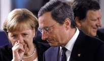 Angela Merkel e Mario Draghi